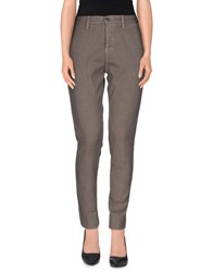 Two Women In The World Trousers Casual Trousers Women Grey