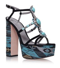 Gina Khalisee Sandals Female Black