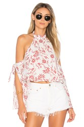 Ale By Alessandra Malika Halter Top White