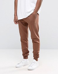 Criminal Damage Skinny Joggers Orange