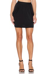 Bcbgeneration Drapey Pocket Skirt Black