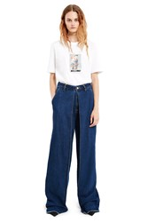 Aalto Pleated Front Jeans Denim