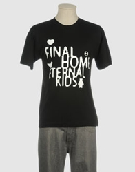 Final Home Short Sleeve T Shirts Black