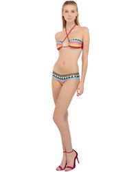 Lightning Bolt Gipsy Stretch Nylon Bikini Multi