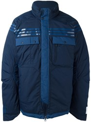 Adidas By White Mountaineering Padded Sport Jacket Blue
