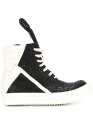 Rick Owens 'Geo Basket' Sneakers Black