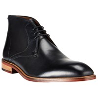 John Lewis Chumbley Refined Leather Chukka Boots Black