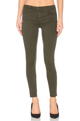 Joe's Jeans The Icon Ankle Skinny Military Green