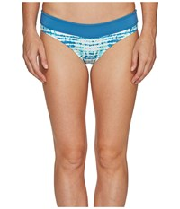 Carve Designs Catalina Bottom Indo Women's Swimwear Blue