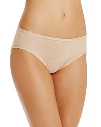 Fine Lines Pure Cotton Hi Cut Brief 13Rhc34 Skin