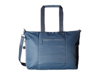 Hedgren Swing Large Tote With Rfid Dolphin Blue Tote Handbags