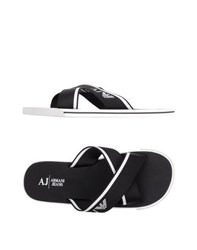 Armani Jeans Footwear Sandals Men Black