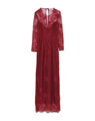 Christies A Porter Long Dresses Maroon