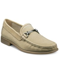Stacy Adams Men's Kelby Moccasin Toe Loafers Men's Shoes Taupe