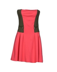 Met Short Dresses Fuchsia