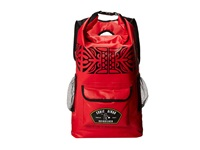 Quiksilver Eddie Sea Stash Backpack Quik Red Backpack Bags Black