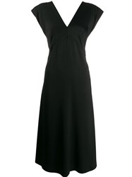 Joseph Sienna Light Cady Dress Black