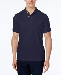 Club Room Performance Polo Shirt Only At Macy's Navy Blue