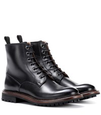 Church's Antic Leather Ankle Boots Black