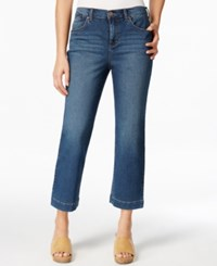 Styleandco. Style And Co. Cropped Timber Wash Jeans Only At Macy's