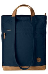 Fjall Raven Fjallraven Totepack No.2 Water Resistant Tote Blue Navy