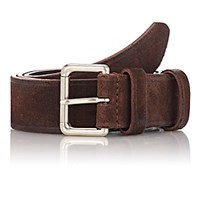 Felisi Men's Numbered Suede Belt Brown
