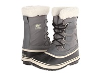 Sorel Winter Carnival Pewter Black Metal Crush Nappa Wax Women's Cold Weather Boots