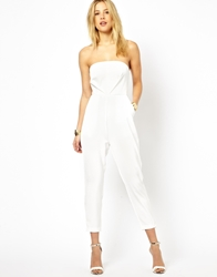 Aq Aq Aq Aq Bandeau 7 8 Tailored Jumpsuit