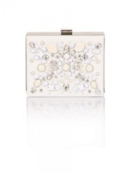 Chi Chi London Tula Clutch Bag White