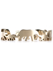 Marc Alary Elephant Ring Metallic