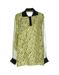 Emanuel Ungaro Shirts Acid Green