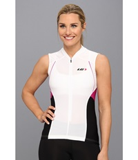 Louis Garneau Beeze Vent Sleeveless Jersey White Women's Sleeveless