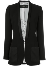 Barbara Bui Shawl Lapel Blazer Black