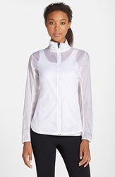 Brooks Women's Water Resistant Ripstop Jacket White