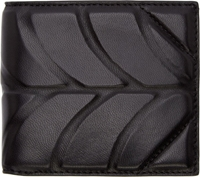 Alexander Wang Black Embossed Leather Bifold Wallet