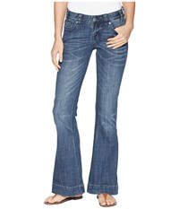 Rock And Roll Cowgirl Trousers In Medium Vintage W8 6673 Medium Vintage Jeans Blue