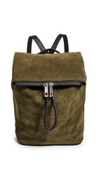 Rag And Bone Loner Backpack Olive Night