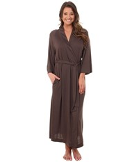 Natori Shangri La Robe Hot Espresso Women's Robe Brown