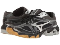 Mizuno Wave Bolt 6 Black Silver Women's Running Shoes