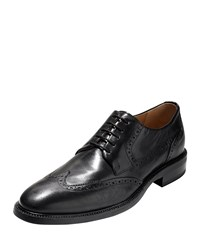 Warren Wing Tip Leather Oxford Black Cole Haan