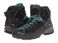 Salewa Alp Trainer Mid Gtx Black Out Agata Women's Shoes