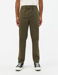 Soulland Poppe Relaxed Pant Green