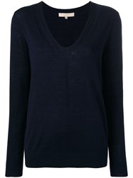 Vanessa Bruno Relaxed Fit Pullover Blue