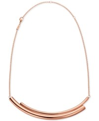 Calvin Klein Women's Scent Pvd Stainless Steel Short Necklace Kj5gpn100100 Kj5gmn000100 Rose Gold