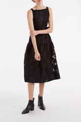 Erdem Women S Adelle Fil Coupe Dress Boutique1 Black
