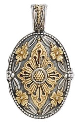 Women's Konstantino 'Hebe' Etched Locket Pendant
