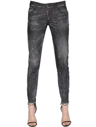 Dsquared Skinny Washed Medium Waist Denim Jeans