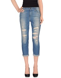 Joe's Jeans Denim Denim Trousers Women Blue