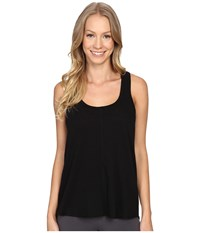 P.J. Salvage Keyhole Tank Top Black Women's Sleeveless