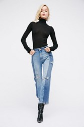 Free People Womens The Patchwork Skinny